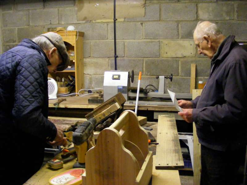 Beccles Mens Shed Members